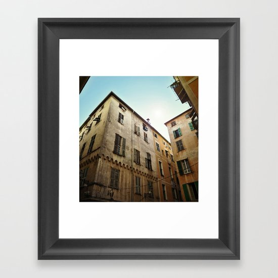 Nice is Nice Framed Art Print