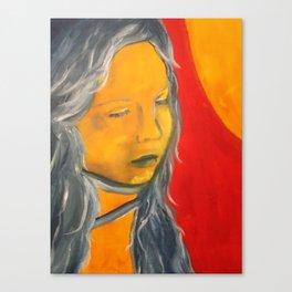 Sun on My Face Canvas Print