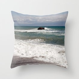 POWER OF THE SEA - SICILY Throw Pillow