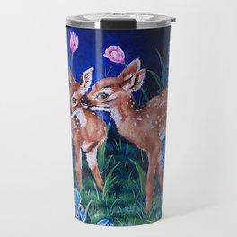 Language of Flowers Travel Mug