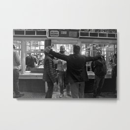 Unknown Faces In Different Places (Pt 19 - Amsterdam, Netherlands) Metal Print