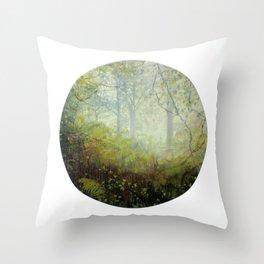 Benevolent Canopy Throw Pillow