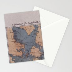 Adventure Is Worthwhile Stationery Cards