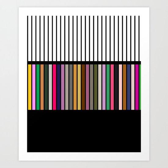 Sound NO.2 Art Print
