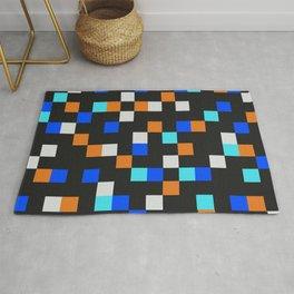 Square Grid III Rug