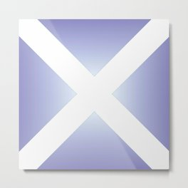 flag of scotland - with color gradient Metal Print