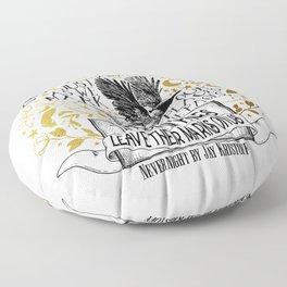 Nevernight - Books Love Us Floor Pillow