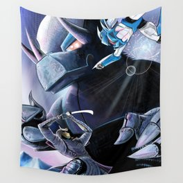 Battle of the Mechs Wall Tapestry