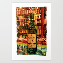40 Years of Perfection Art Print