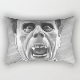 Erik Unmasked Rectangular Pillow