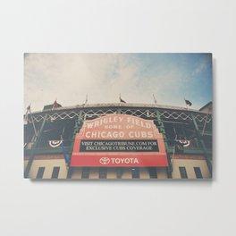 Wrigley Field ... Metal Print