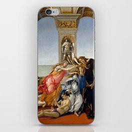 "Sandro Botticelli ""The Calumny of Apelles"" iPhone Skin"