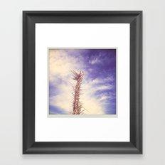 desert llama Framed Art Print