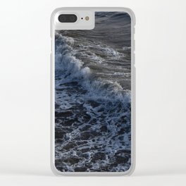 Santa Monica waves Clear iPhone Case