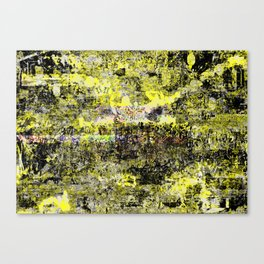 Burning Down the Concept of Heaven Canvas Print