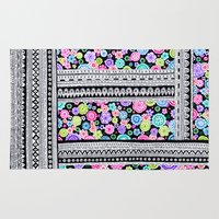blanket Area & Throw Rugs featuring Psychedelic blanket by Asja Boros