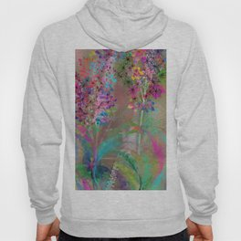 Floral Abstract 87 Hoody