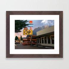 Double R Dinner Framed Art Print