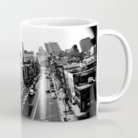brooklyn Mugs featuring Brooklyn by lauraflores013
