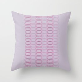 Oh, Ovals Throw Pillow