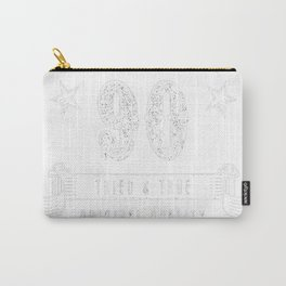 90th-Birthday-Gift---A-True-Classic-Vintage Carry-All Pouch