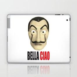 Dalí Mask La Casa de Papel Bella Ciao Laptop & iPad Skin