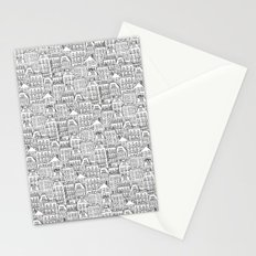 urban winter Stationery Cards