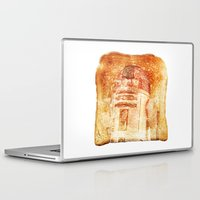 r2d2 Laptop & iPad Skins featuring R2D2 toast by Vin Zzep