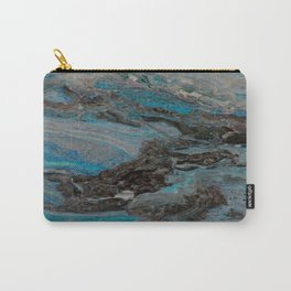 Marble, it is cool, aloof and especially elegant Carry-All Pouch