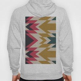 Bohemian Style Geometric Pattern Hoody