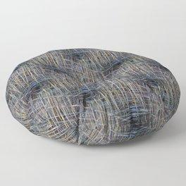 Reed Pattern Floor Pillow