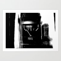 pocket fuel Art Prints featuring Fuel by Karen A Webb Photography