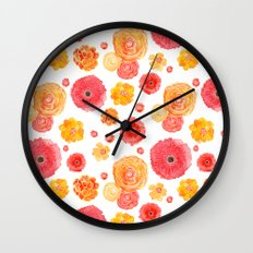 MARIGOLDS Wall Clock