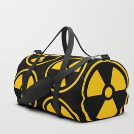 Yellow Radioactive Duffle Bag