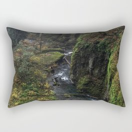 Multnomah Falls 3, Portland Rectangular Pillow