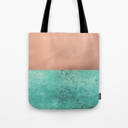 NEW EMOTIONS - ROSE & TEAL Tote Bag