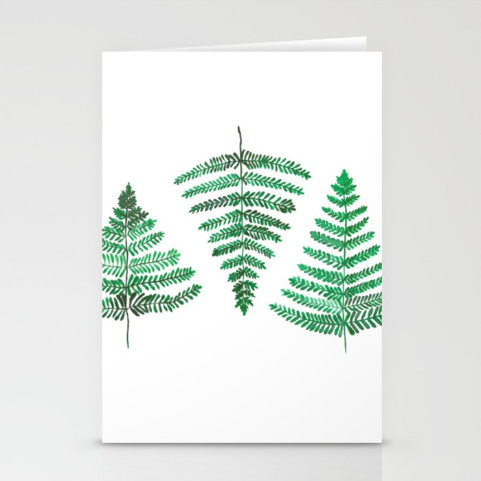 Fiordland Forest Ferns Stationery Cards
