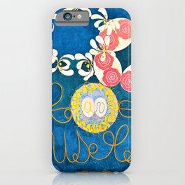 Hilma af Klint - Group IV, The Ten Largest, No. 1, Childhood - Digital Remastered Edition iPhone Case