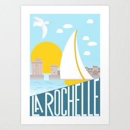 La Rochelle Art Print