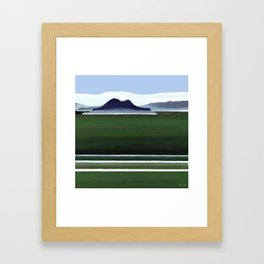 Somes Island - Matiu Framed Art Print