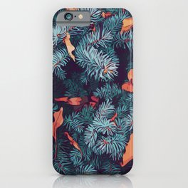 Frosty trees - Winter is here iPhone Case