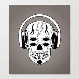 Groovy Skull Canvas Print