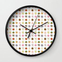 ROUND ANIMALS Wall Clock