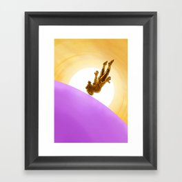 Bubblegum Dawn Framed Art Print