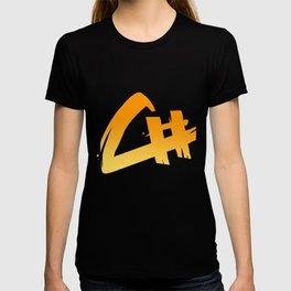 Capital Number Logo T-shirt