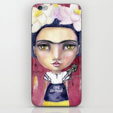 Little Frida by Jane Davenport iPhone & iPod Skin