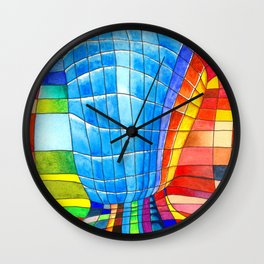 I go out with you(tube). You go out with me(ssenger)? Wall Clock