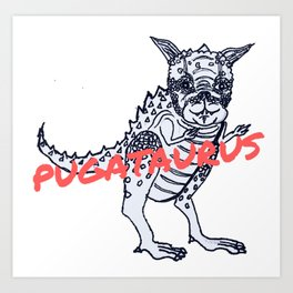 Pugataurus Art Print