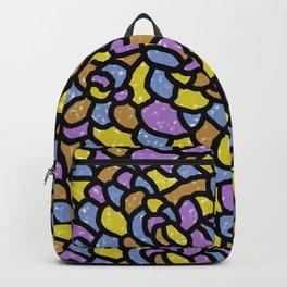 Mosaic Tiles Random Shaped Backpack
