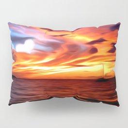 Honeymoon Sunset Pillow Sham